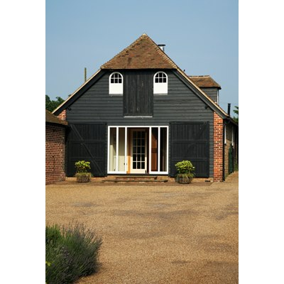 (2 ex) 32 x 175mm x 3.9m Black Painted Barn Lap Cladding
