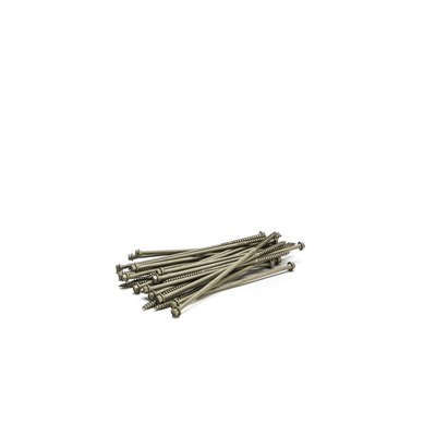 8.0 x 250mm In-Dex Timber Screws (box of 50)