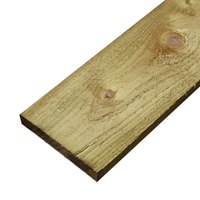 GBS022100 22mm x 100mm x 3600mm Softwood gravel boards. Green pressure treated.