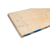 PLYELL18 2440 x 1220 x 18.0mm brazilian elliottis pine plywood CE2+ structural grade